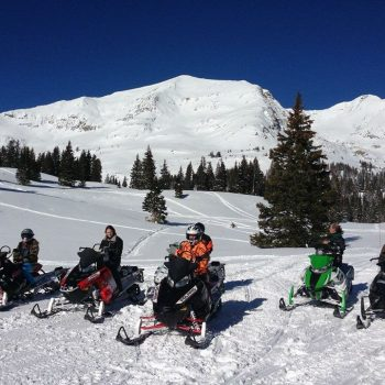 Snowmobile Rentals Crested Butte, Colorado