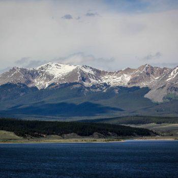 Sawatch Range Taylor Reservoir