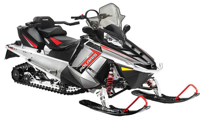 2015 One-Person Snowmobile: Polaris 550 INDY Voyageur