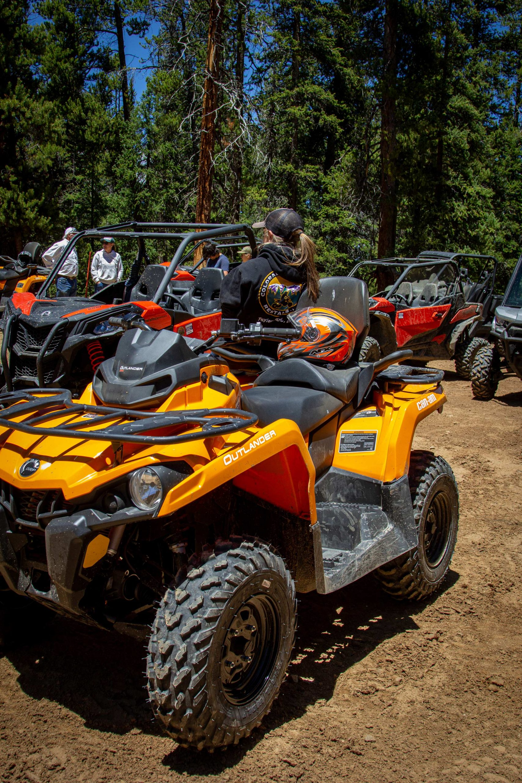 Colorado Adventure Rentals Snowmobile Atv Rentals Crested Butte